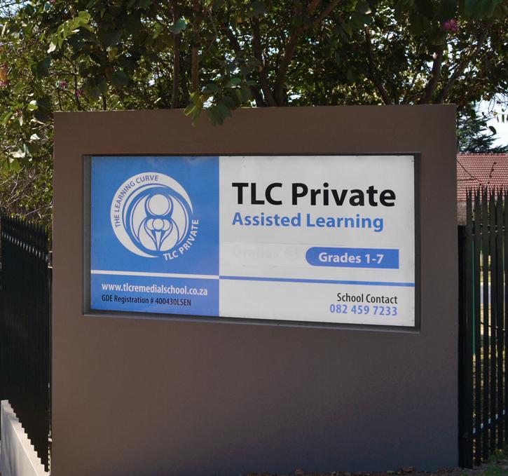 TLC School Sign